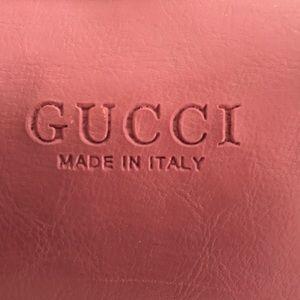 "Gucci Pink Purse 12"" length"